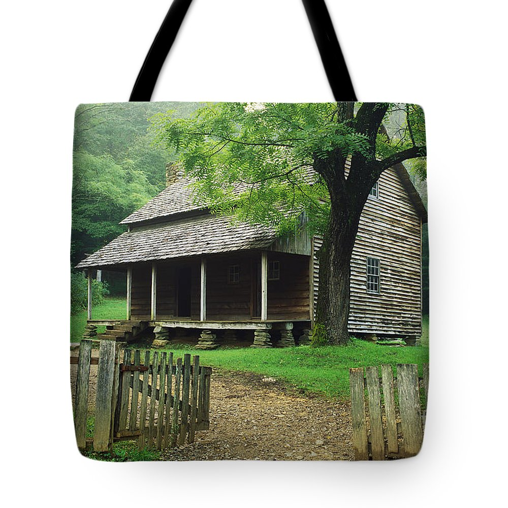 Tifton Place Tote Bag featuring the photograph Tifton Place by David Davis