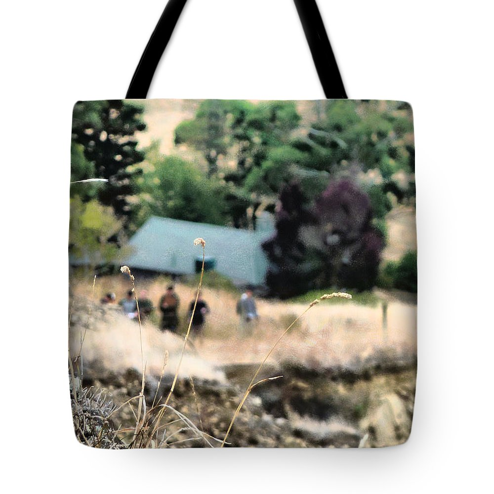 Grass Tote Bag featuring the photograph Time For A Picnic by Steve Taylor