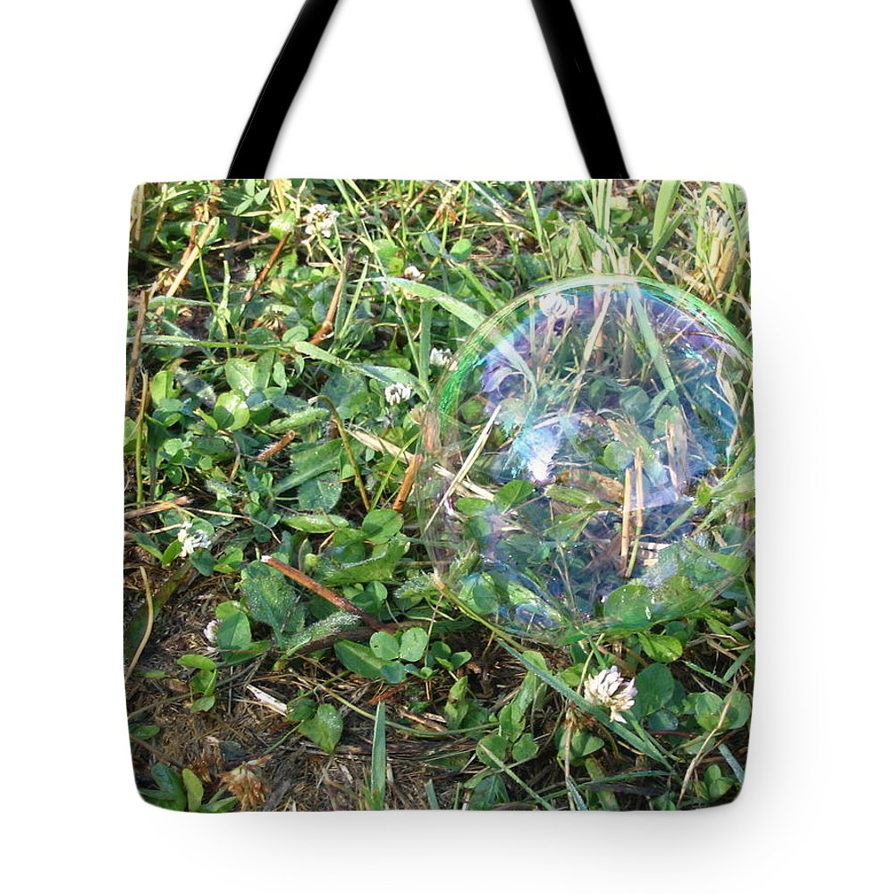 Bubble Tote Bag featuring the photograph Time Stands Still by Vivian Martin