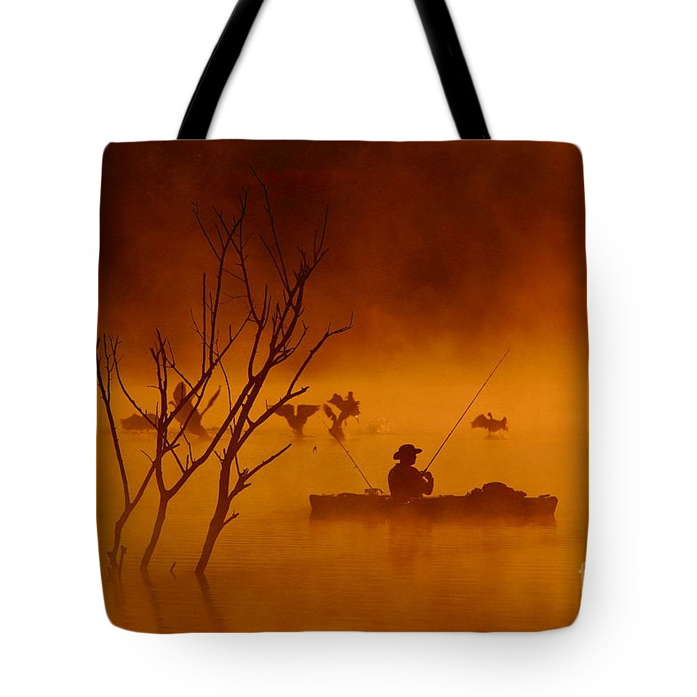 Sunrise Tote Bag featuring the photograph Time To Spread My Wings And Fly by Elizabeth Winter