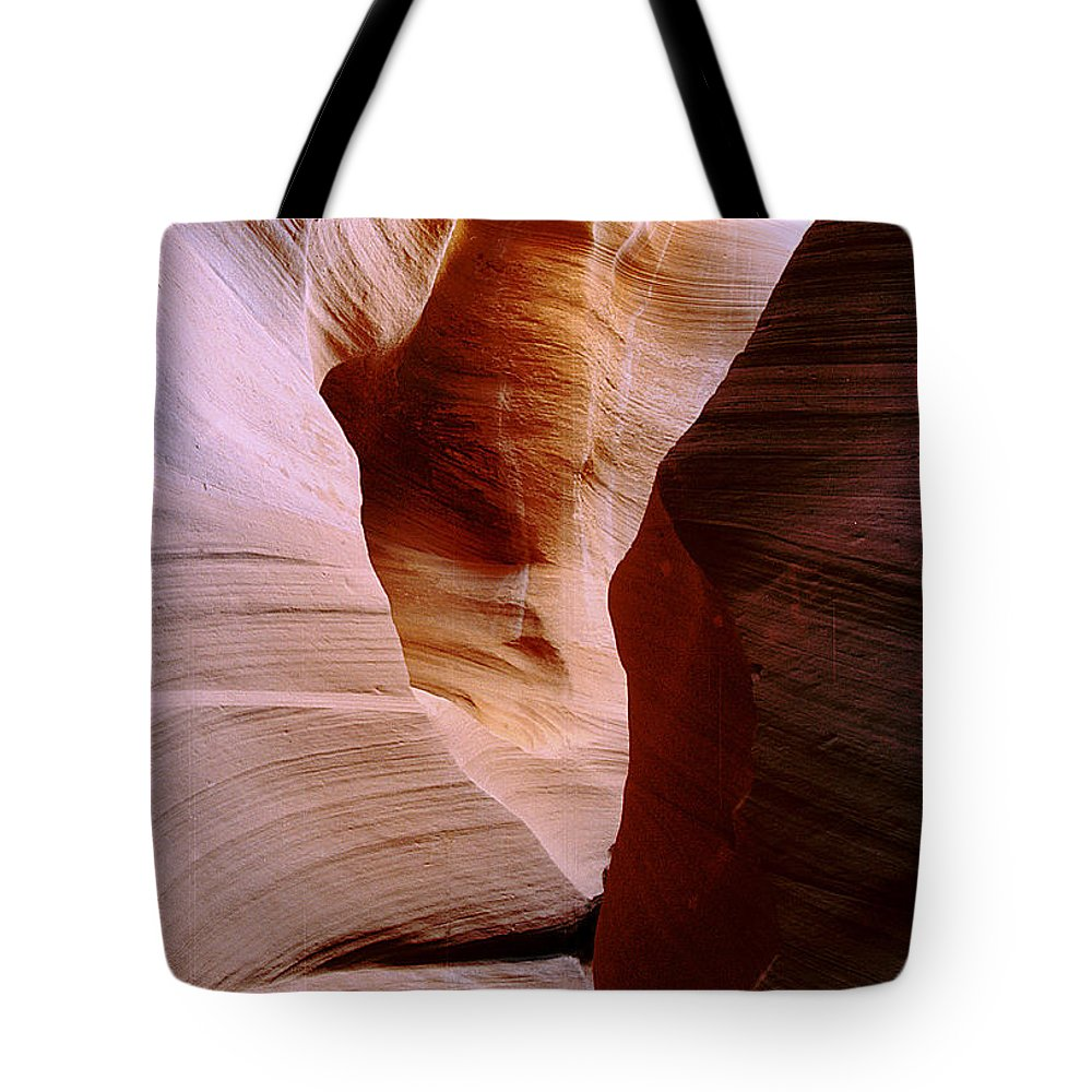 Antelope Canyon Tote Bag featuring the photograph Timeless by Kathy McClure