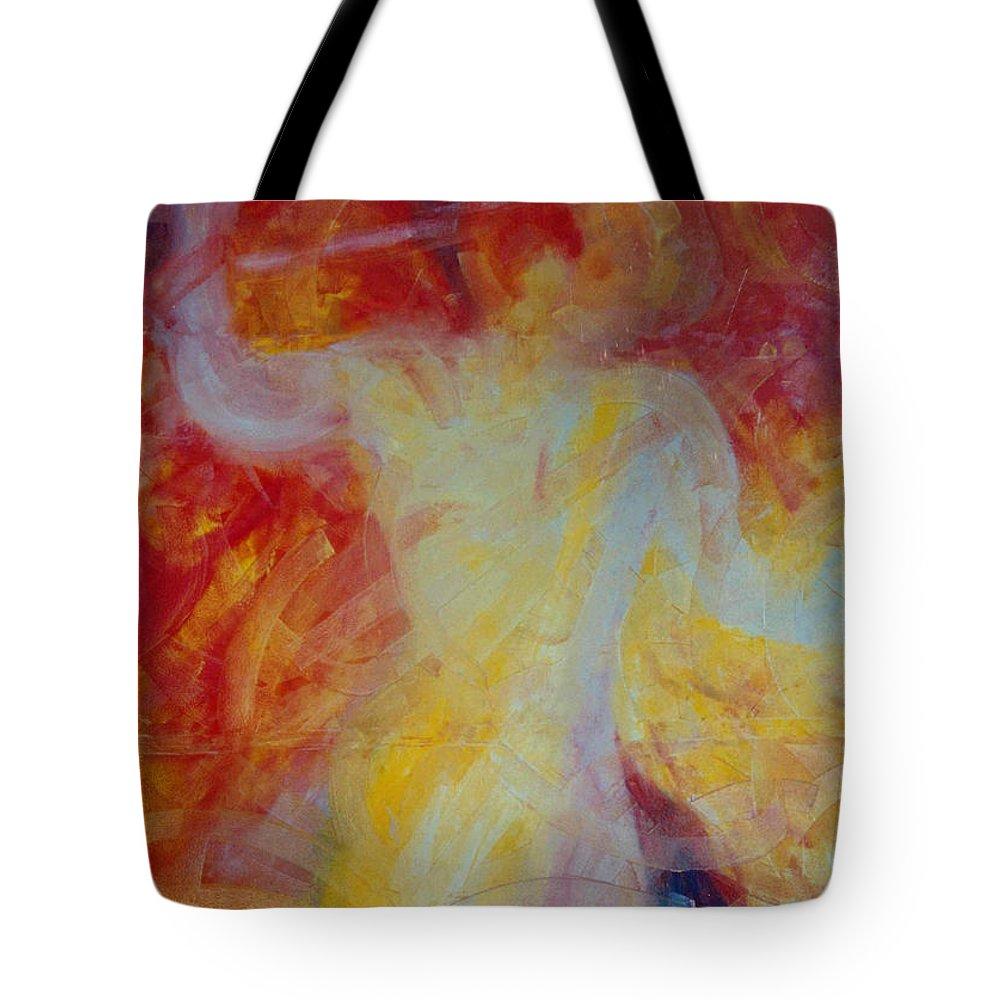 Giant Tote Bag featuring the painting Titan by Lord Frederick Lyle Morris - Disabled Veteran