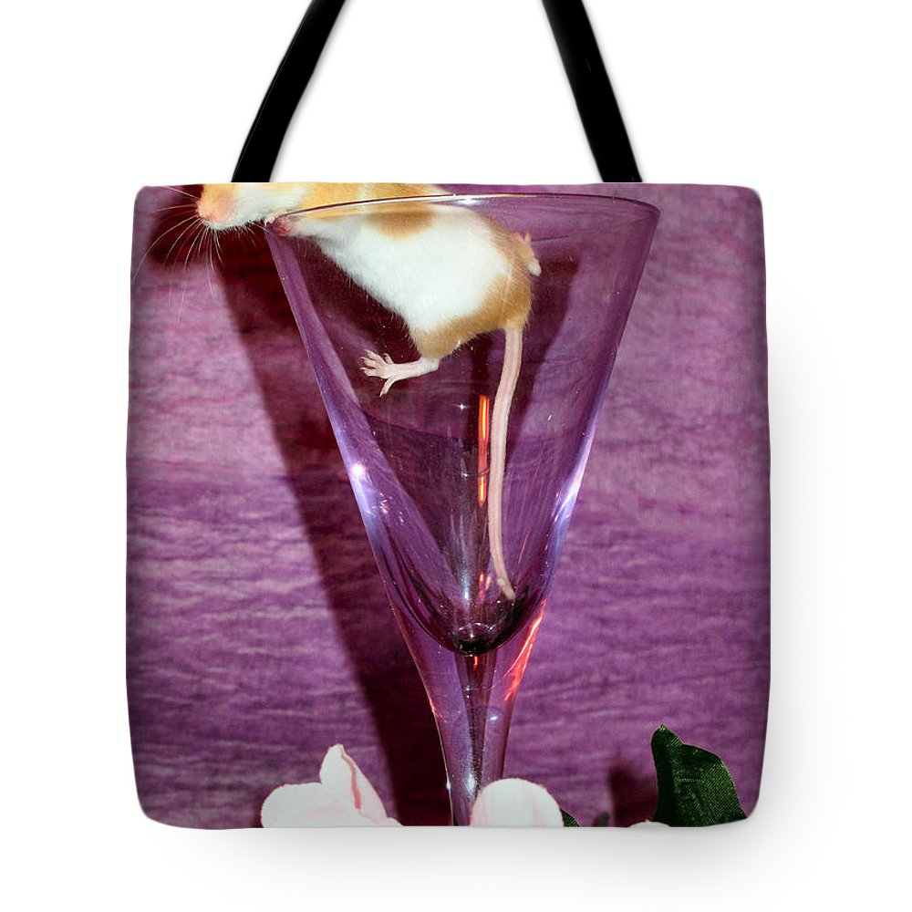 Fancy Tote Bag featuring the photograph Toasting Friends by Art Dingo