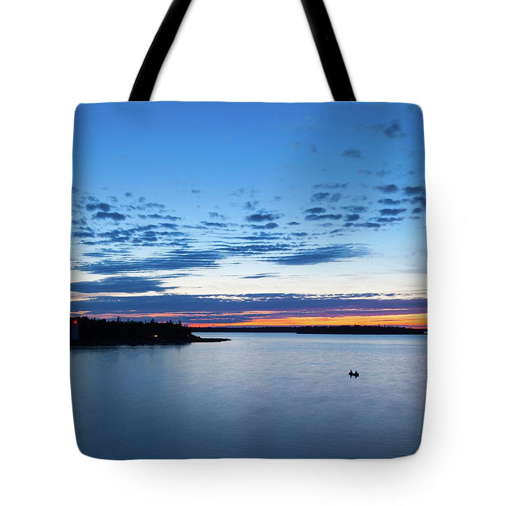 Scenics Tote Bag featuring the photograph Tobermory, Ontario, Canada by Benedek