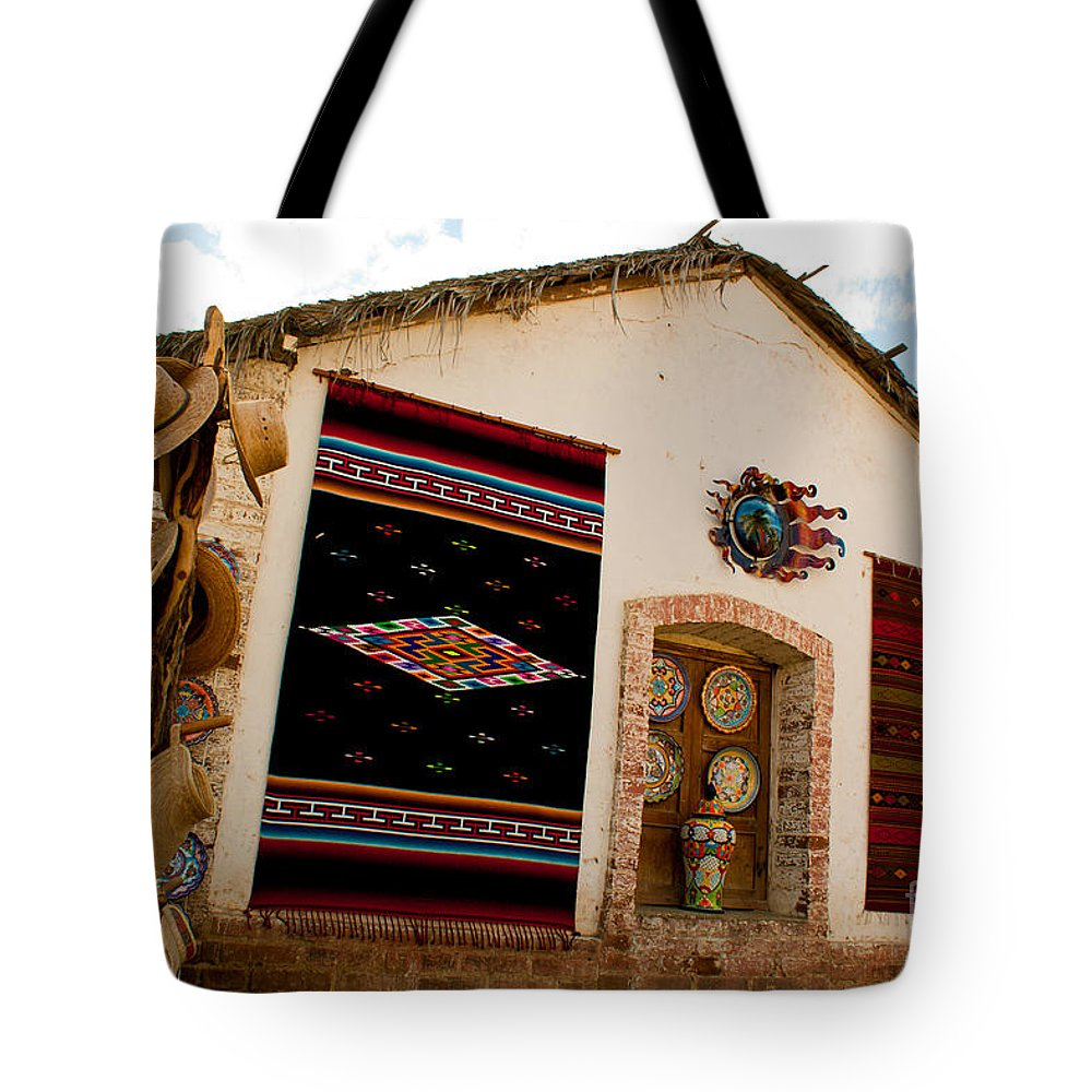 Mexico Tote Bag featuring the photograph Todos Los Santos Market by Ryan Burton