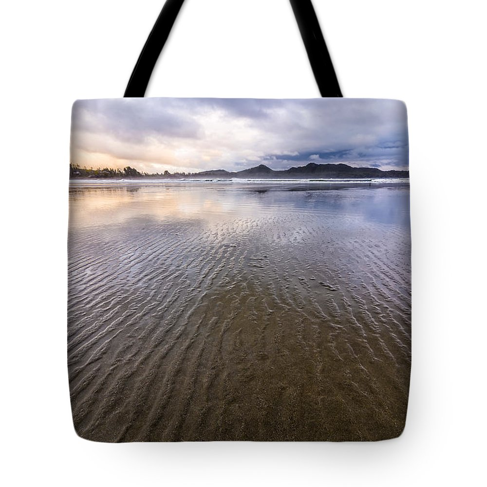 Beautiful Tote Bag featuring the photograph Tofino Ripple by James Wheeler