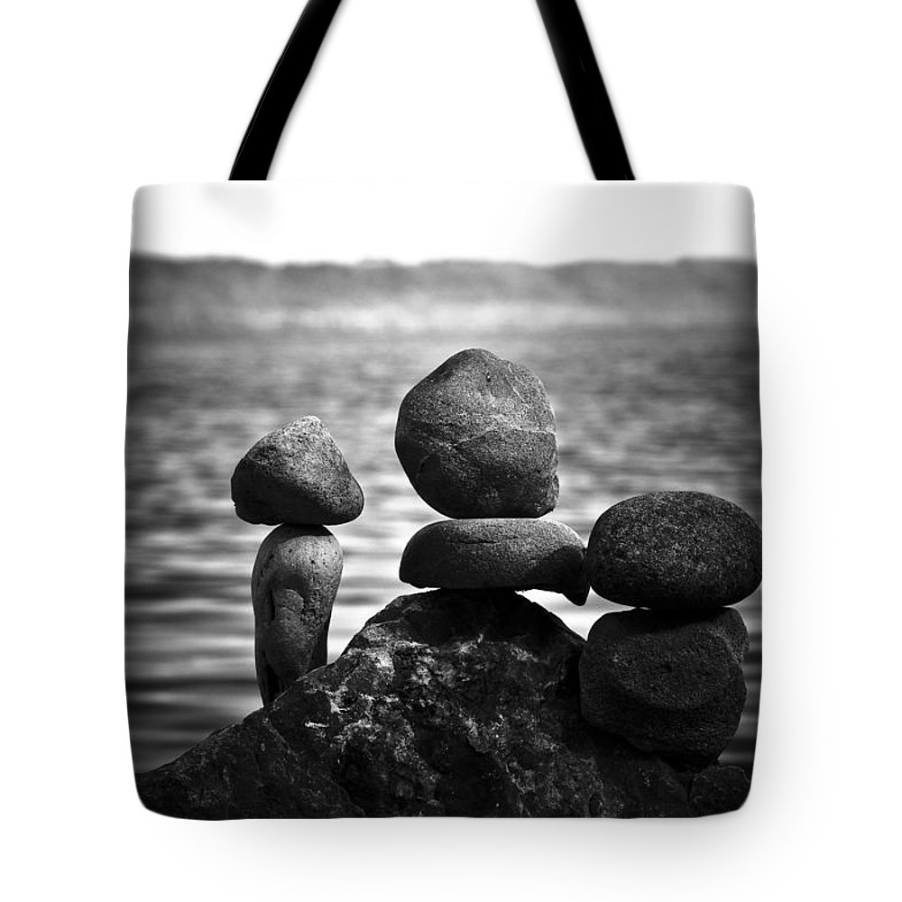 Blumwurks Tote Bag featuring the photograph Together Alone by Matthew Blum