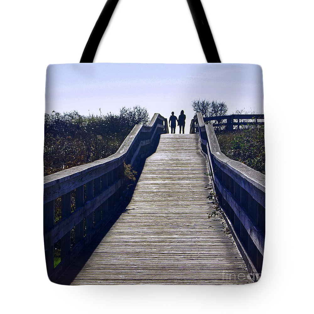 Love Tote Bag featuring the photograph Together by Joe Geraci
