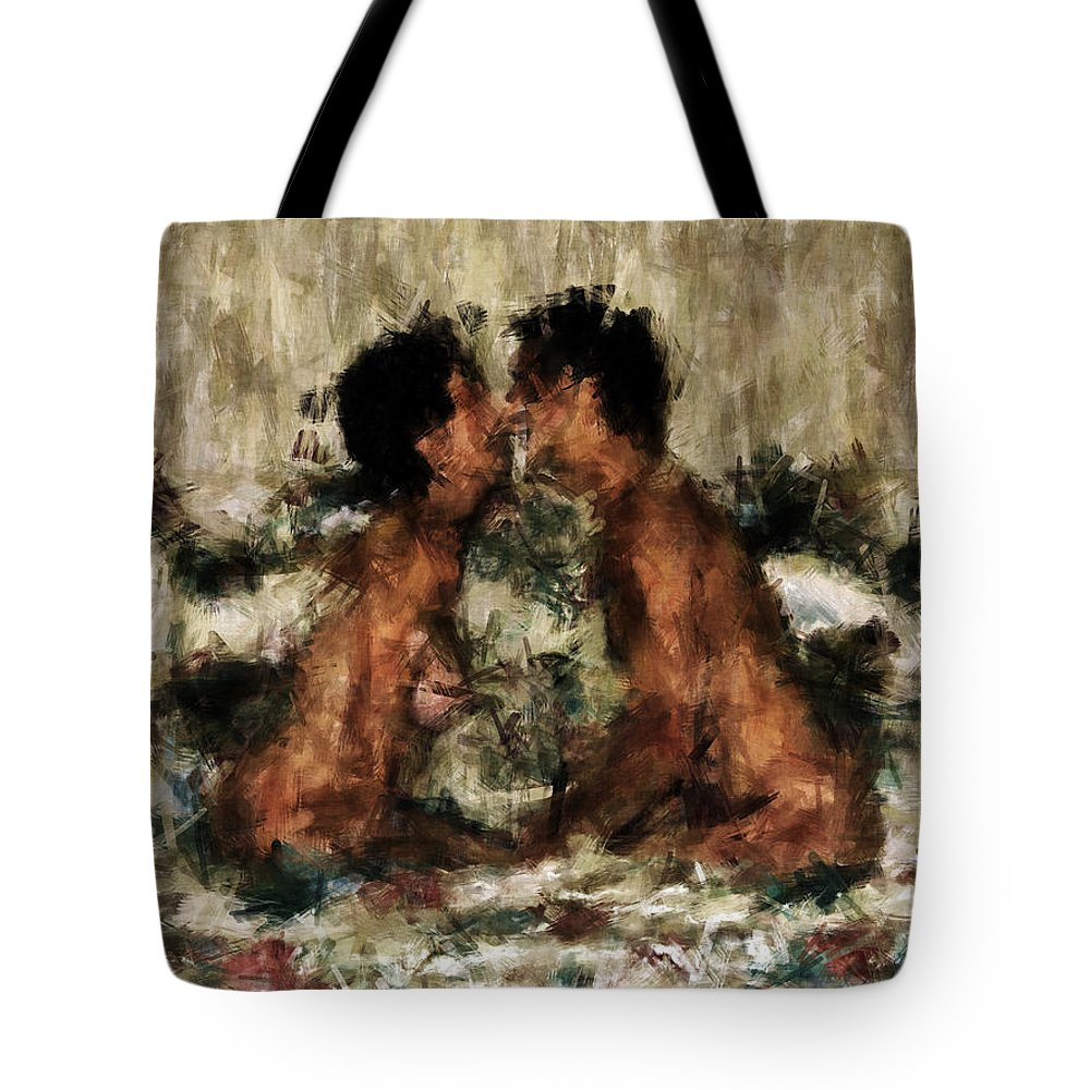 Together Tote Bag featuring the photograph Together by Kurt Van Wagner