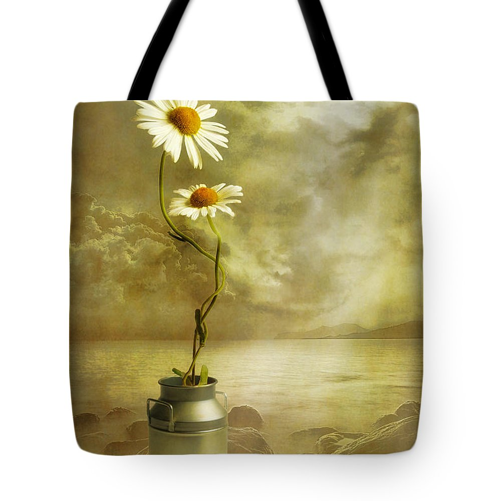 Art Tote Bag featuring the photograph Together by Veikko Suikkanen
