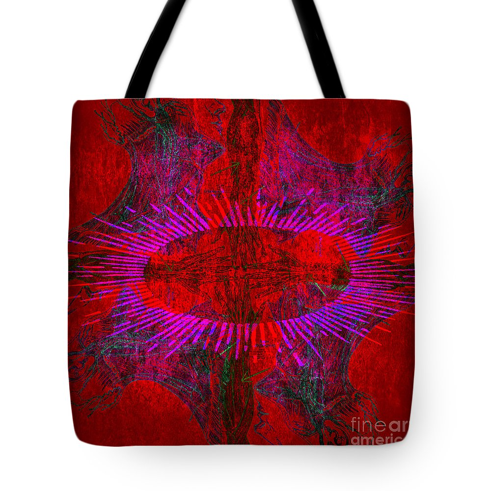 Anatomical Tote Bag featuring the photograph Togetherness by Stelios Kleanthous