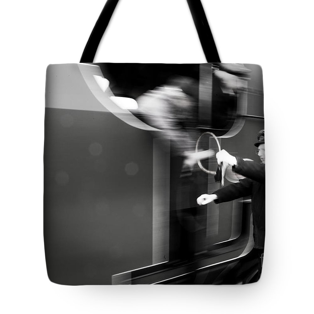 Steam Tote Bag featuring the photograph Tokened by Rob Hawkins