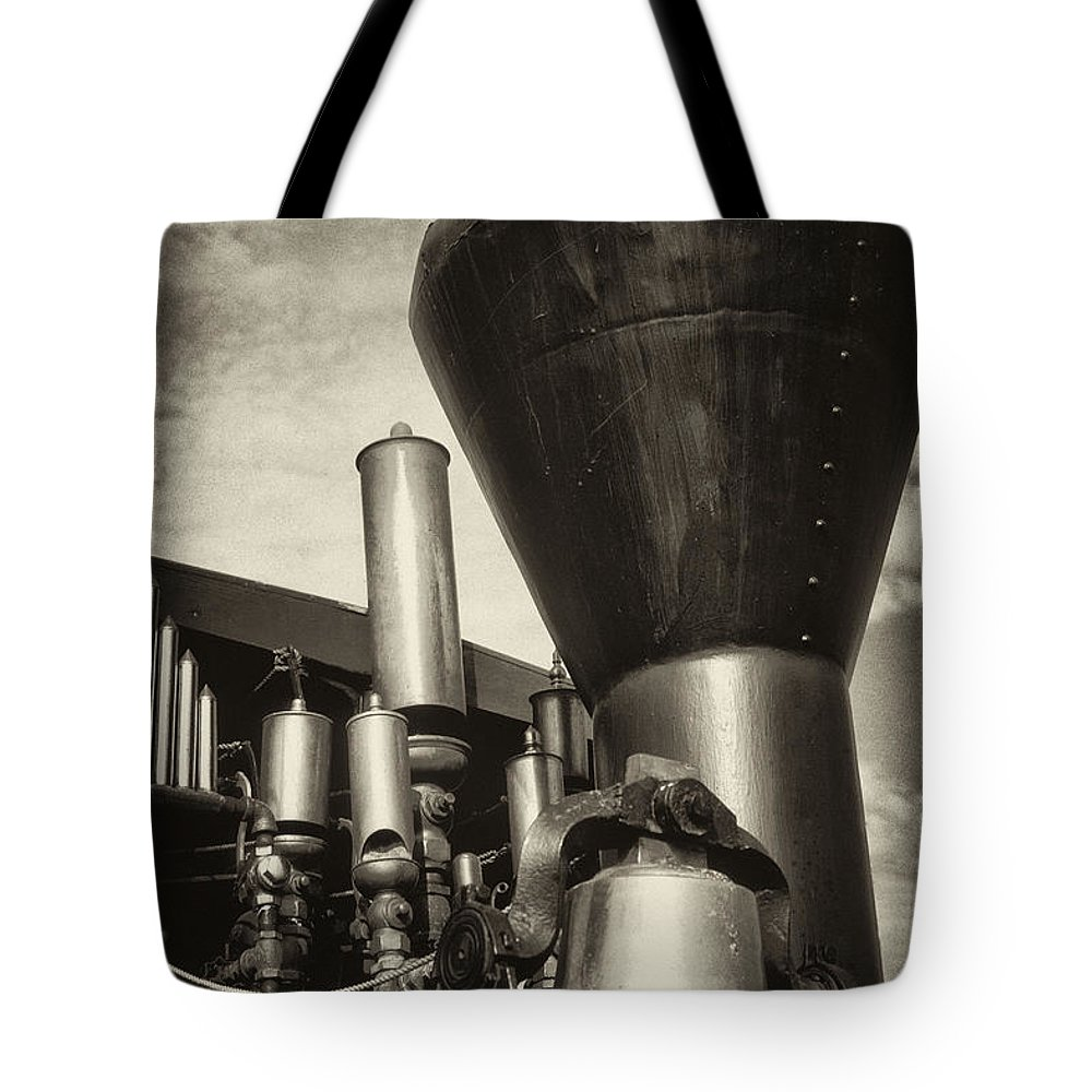 Steam Tote Bag featuring the photograph Toned Whistles And Bells by Paul W Faust - Impressions of Light