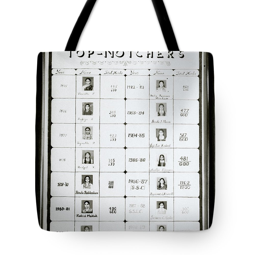India Tote Bag featuring the photograph Top Notchers by Shaun Higson