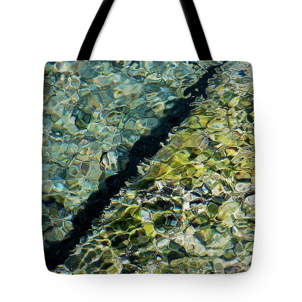 Abstract Tote Bag featuring the photograph Tornillo Texture by Britt Runyon