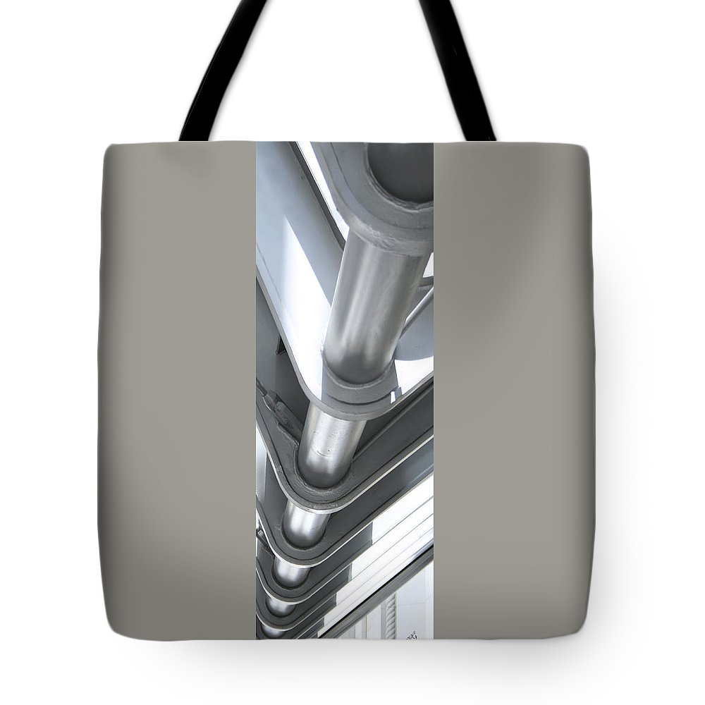 Architectural Detail Tote Bag featuring the photograph Toronto Silhouettes IIi by Ben and Raisa Gertsberg