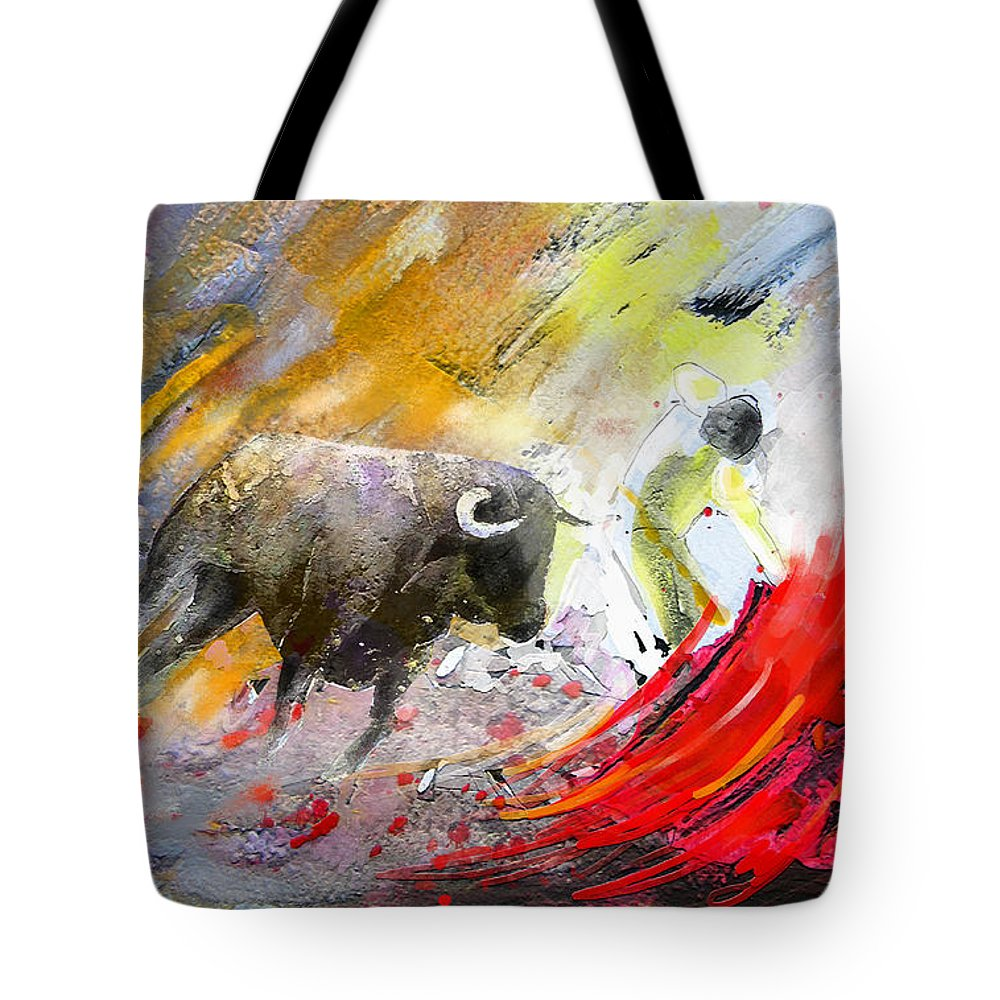 Culture Tote Bag featuring the painting Toroscape 50 by Miki De Goodaboom