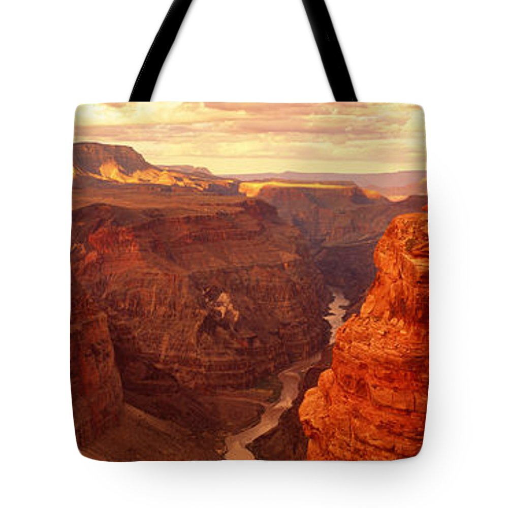 Photography Tote Bag featuring the photograph Toroweap Point, Grand Canyon, Arizona by Panoramic Images