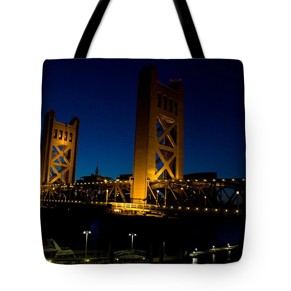 Tower Bridge Tote Bag featuring the photograph Tower Bridge by John Daly