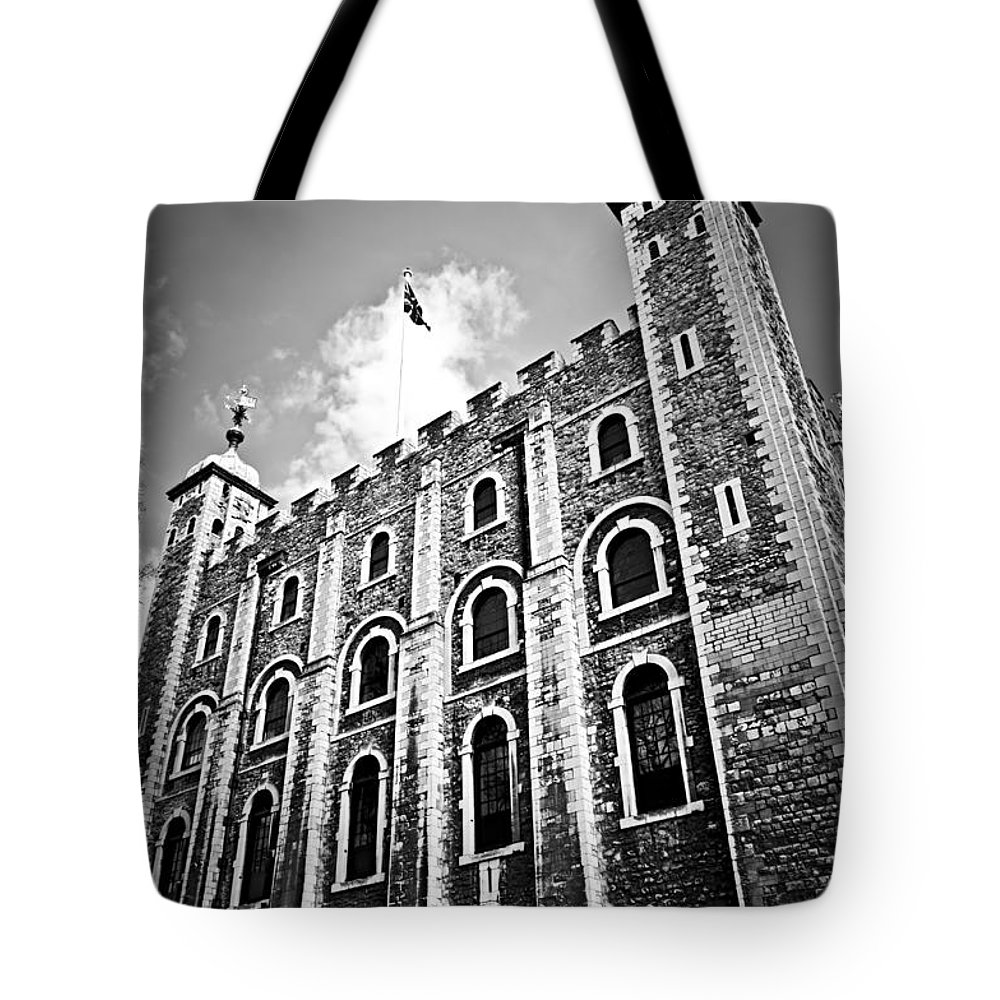 Tower Tote Bag featuring the photograph Tower Of London by Elena Elisseeva