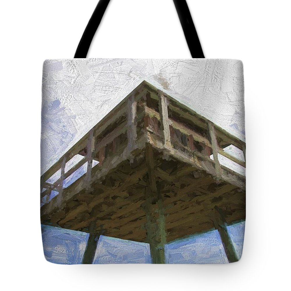 Ww2tower Tote Bag featuring the photograph Towerview by Alice Gipson