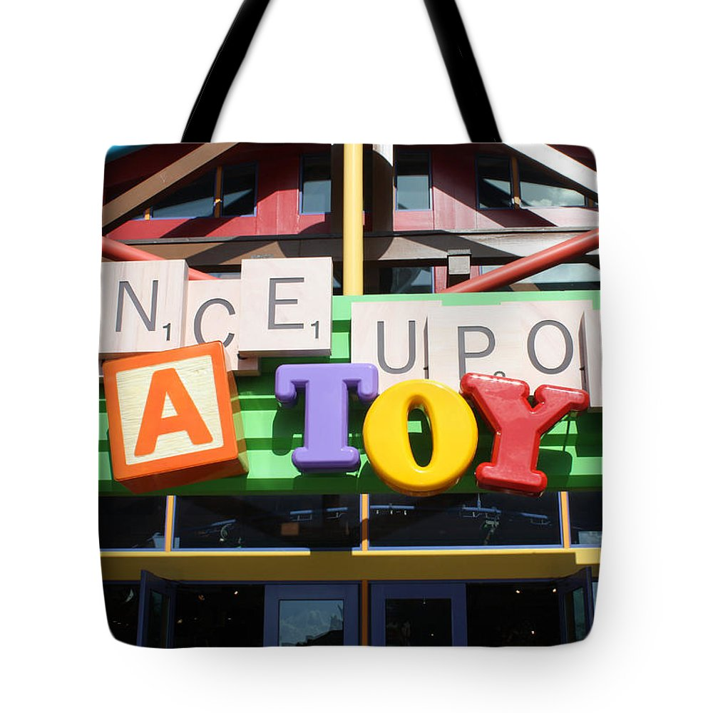 Disney World Tote Bag featuring the photograph Toy Heaven by David Nicholls