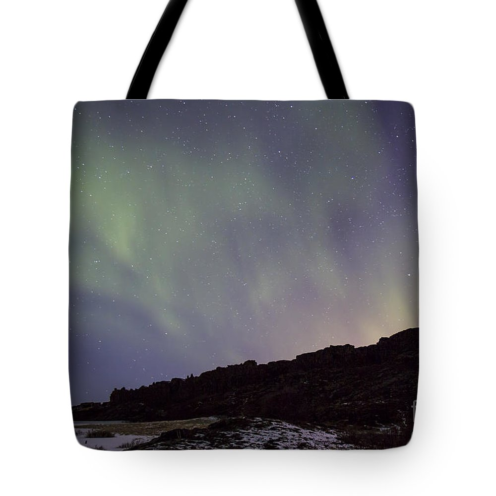 Thingvellir Tote Bag featuring the photograph Traces Of Dreams by Evelina Kremsdorf