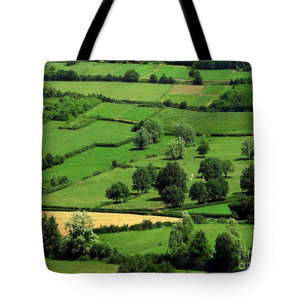Tuscany Tote Bag featuring the photograph Train To Paris by Jennie Breeze