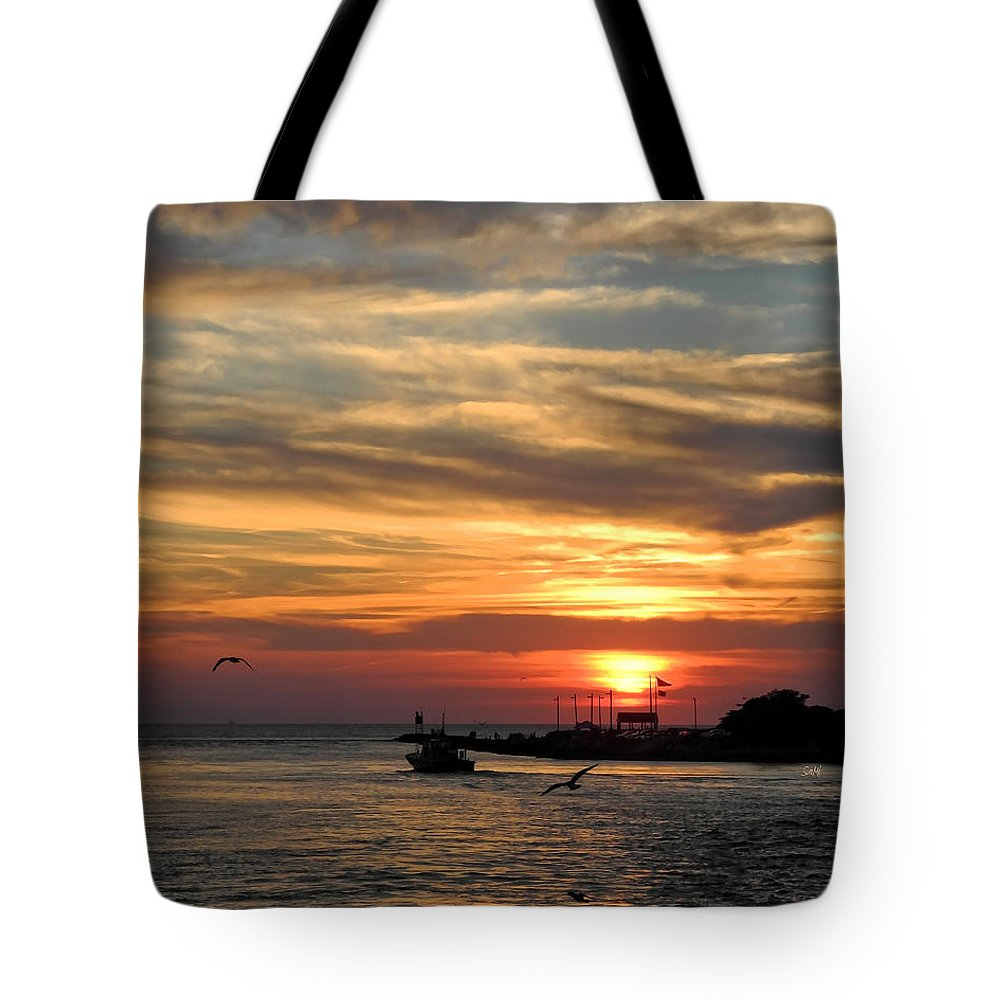 Portrait Tote Bag featuring the photograph Tranquil by Sami Martin