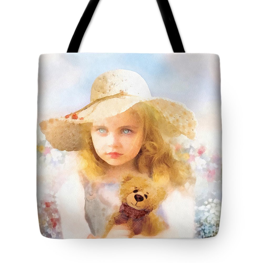 Tranquility Tote Bag featuring the painting Tranquility by Mo T