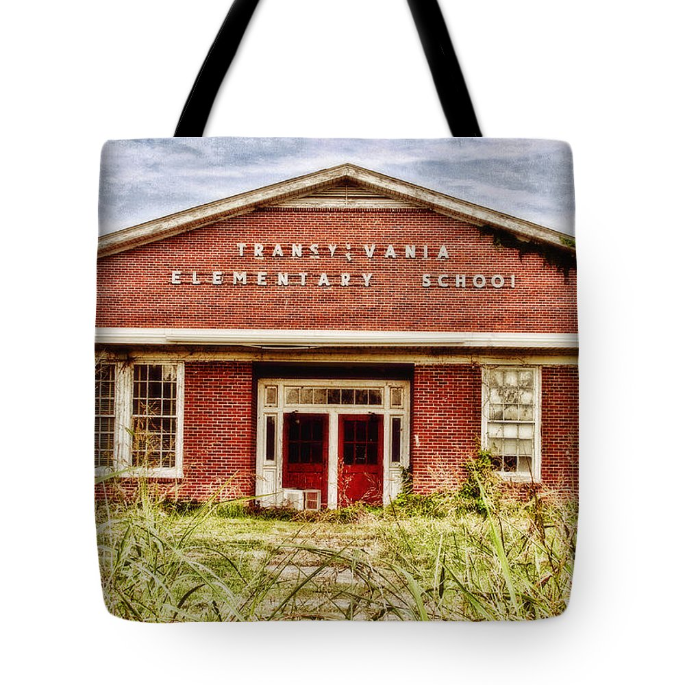 School Tote Bag featuring the photograph Transylvania Elementary by Scott Pellegrin