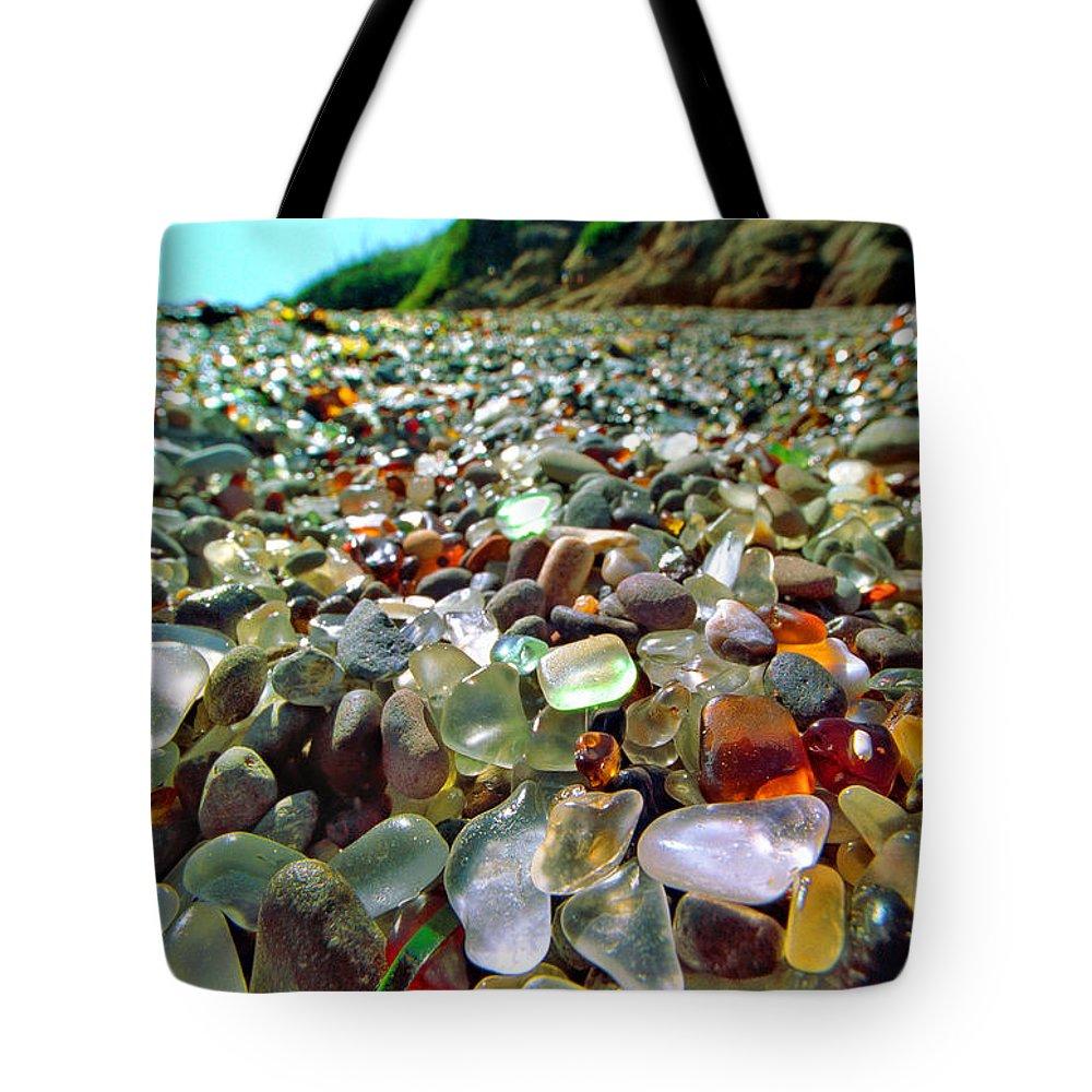 Film Tote Bag featuring the photograph Treasure Beach by Daniel Furon