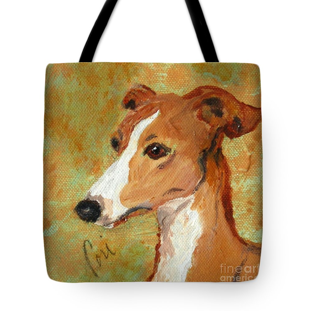 Acrylic Tote Bag featuring the painting Treasured Moments by Cori Solomon
