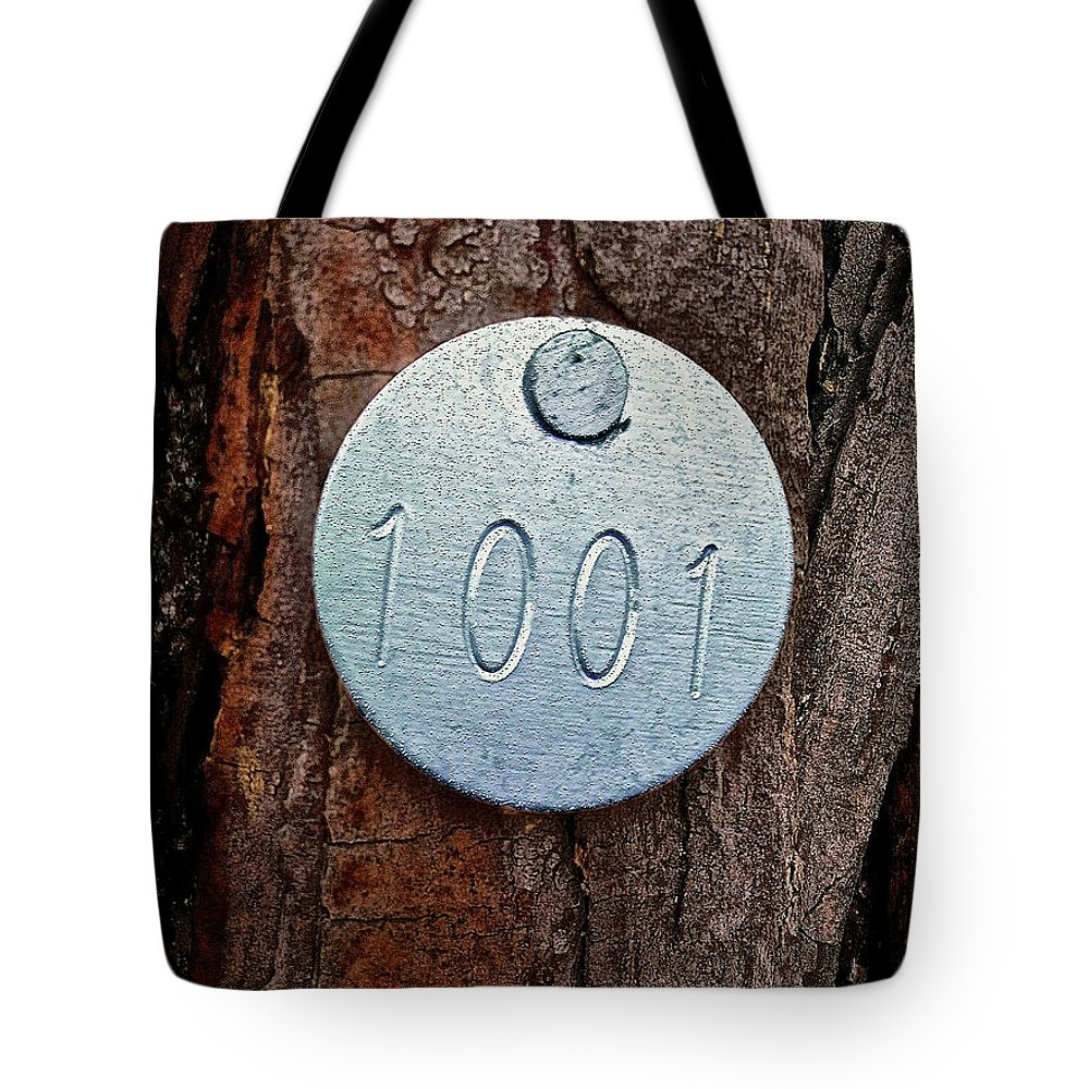 Tree Tote Bag featuring the photograph Tree 1001 by Bill Owen