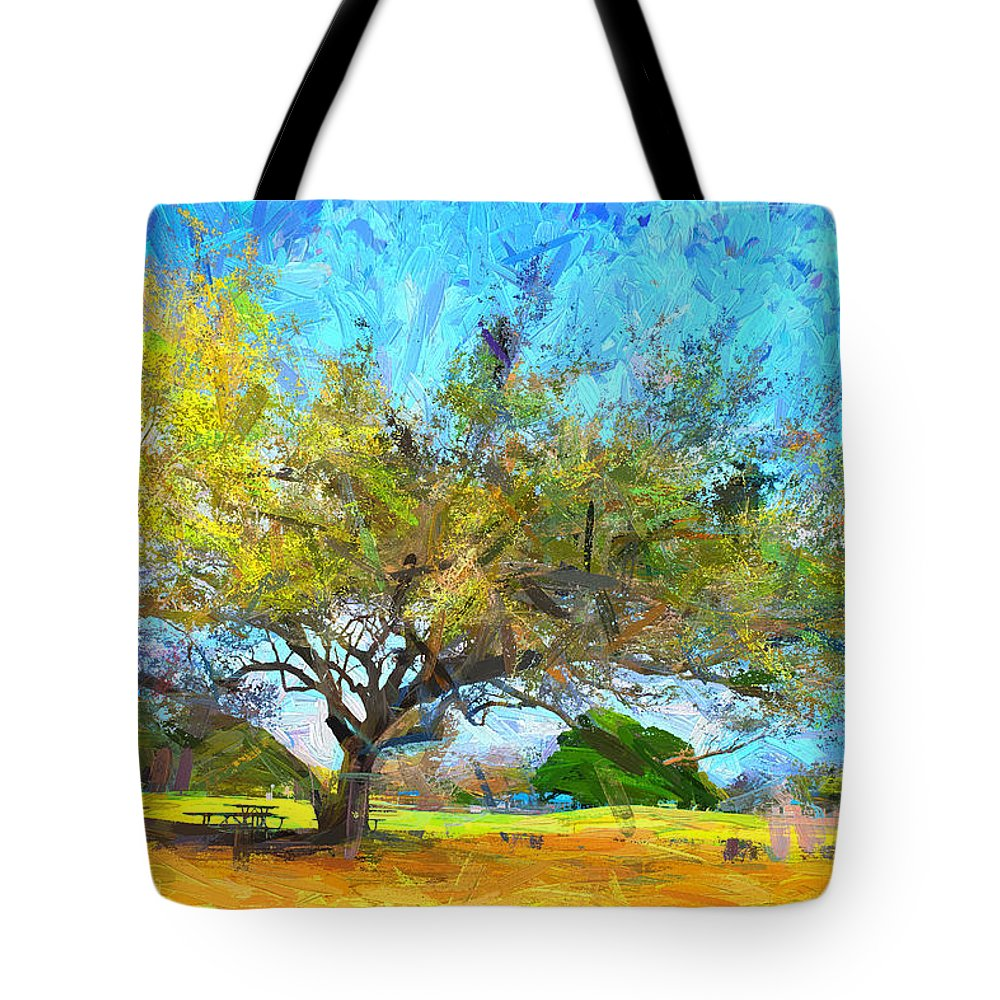 Trees Tote Bag featuring the photograph Tree Series 64 by Carlos Diaz