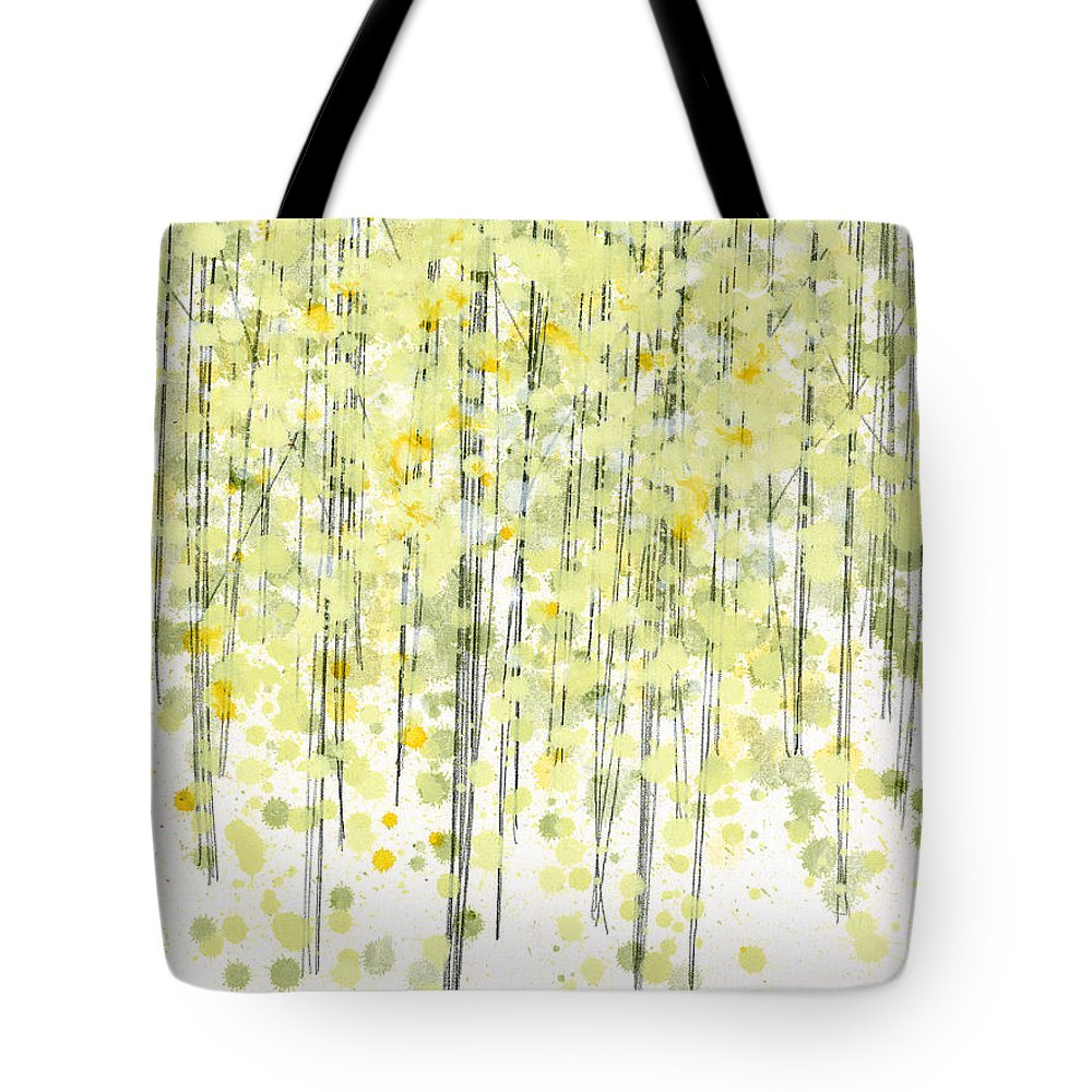 Beautiful Tote Bag featuring the painting Tree Series3 by Jerome Lawrence