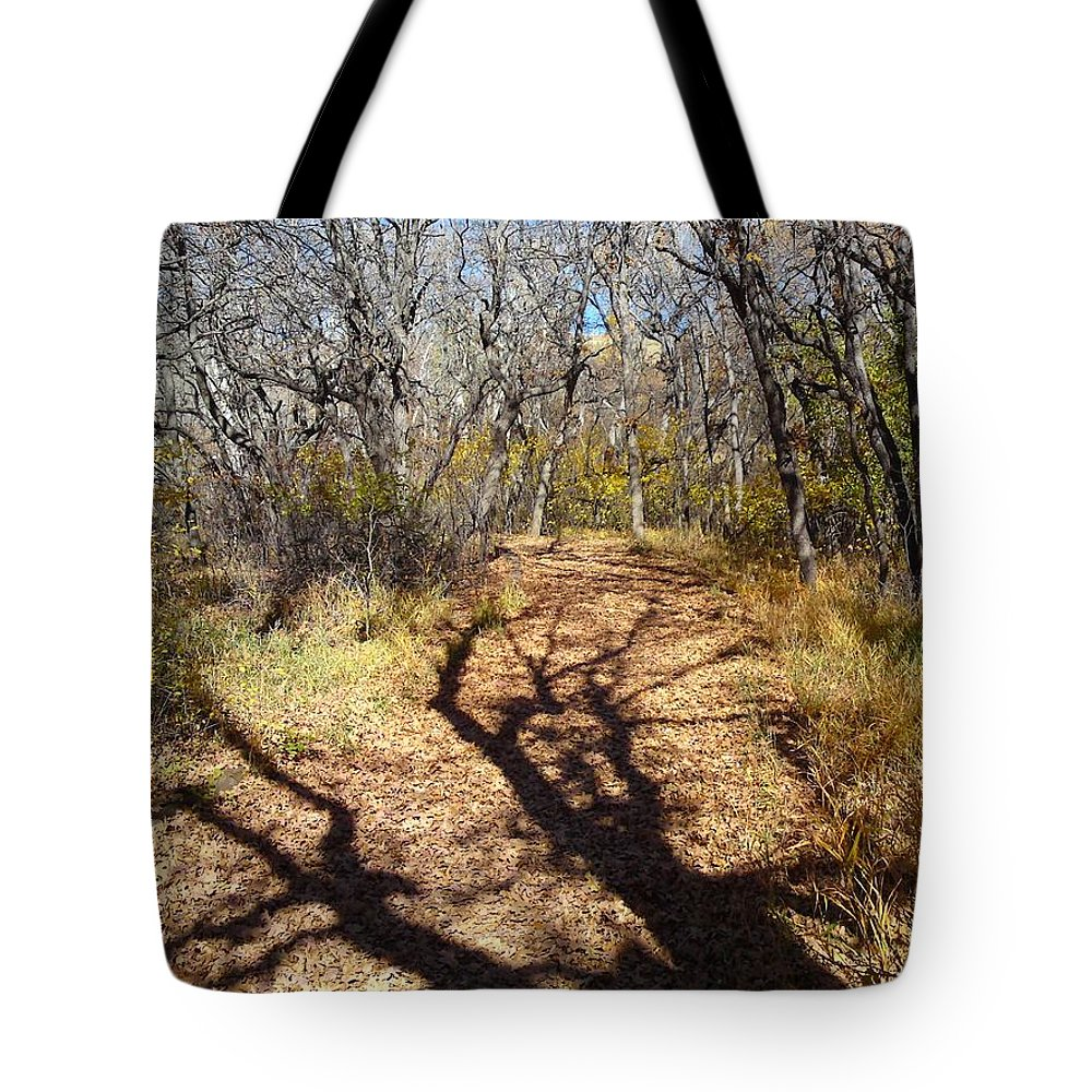 Gary Tote Bag featuring the photograph Tree Shadow by Gary Simmons