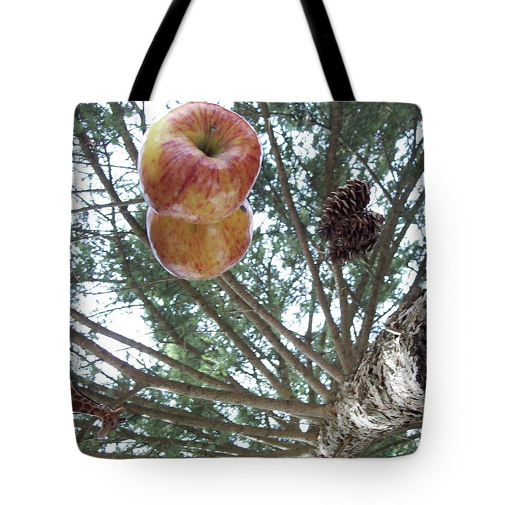 Tree Tote Bag featuring the photograph Tree Spiral by Michelle Miron-Rebbe