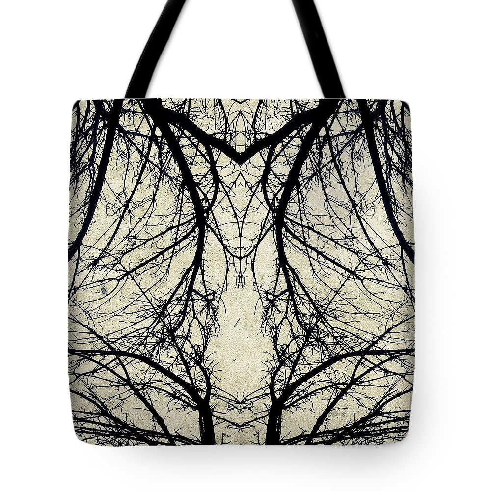 Tree Tote Bag featuring the photograph Tree Veins by Natasha Marco