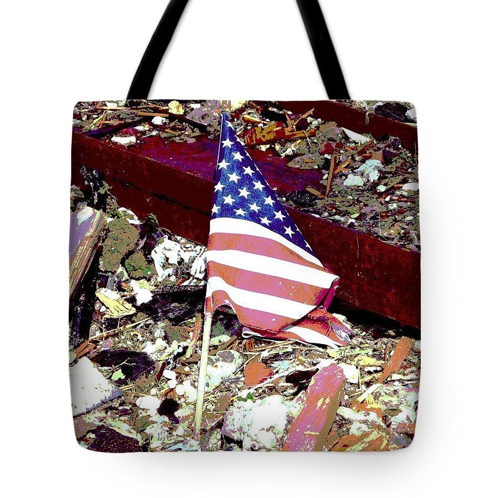 Joplin Tote Bag featuring the photograph Tribute To Joplin by Deena Stoddard