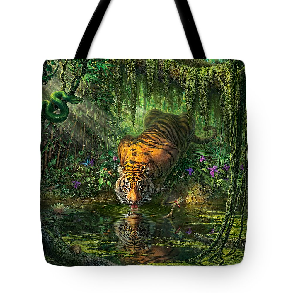 Jungle Tote Bags