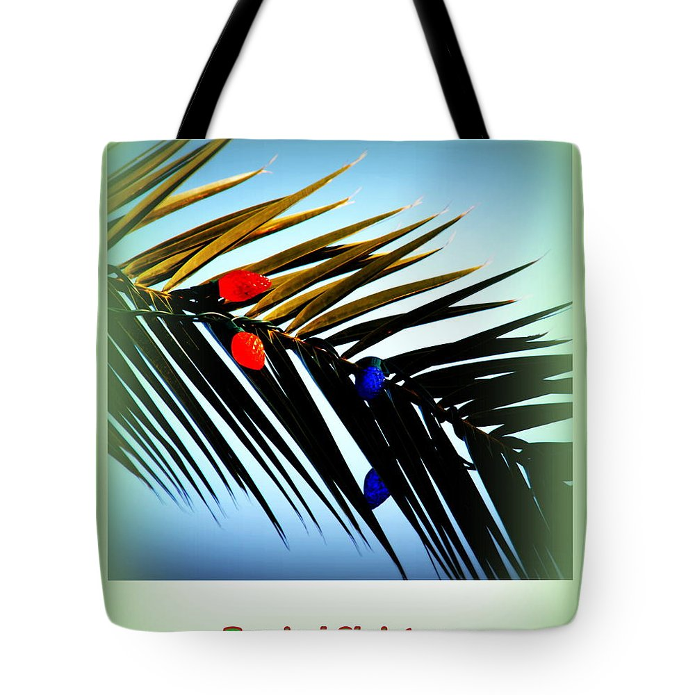 Tropical Christmas Tote Bag featuring the photograph Tropical Christmas by Susanne Van Hulst