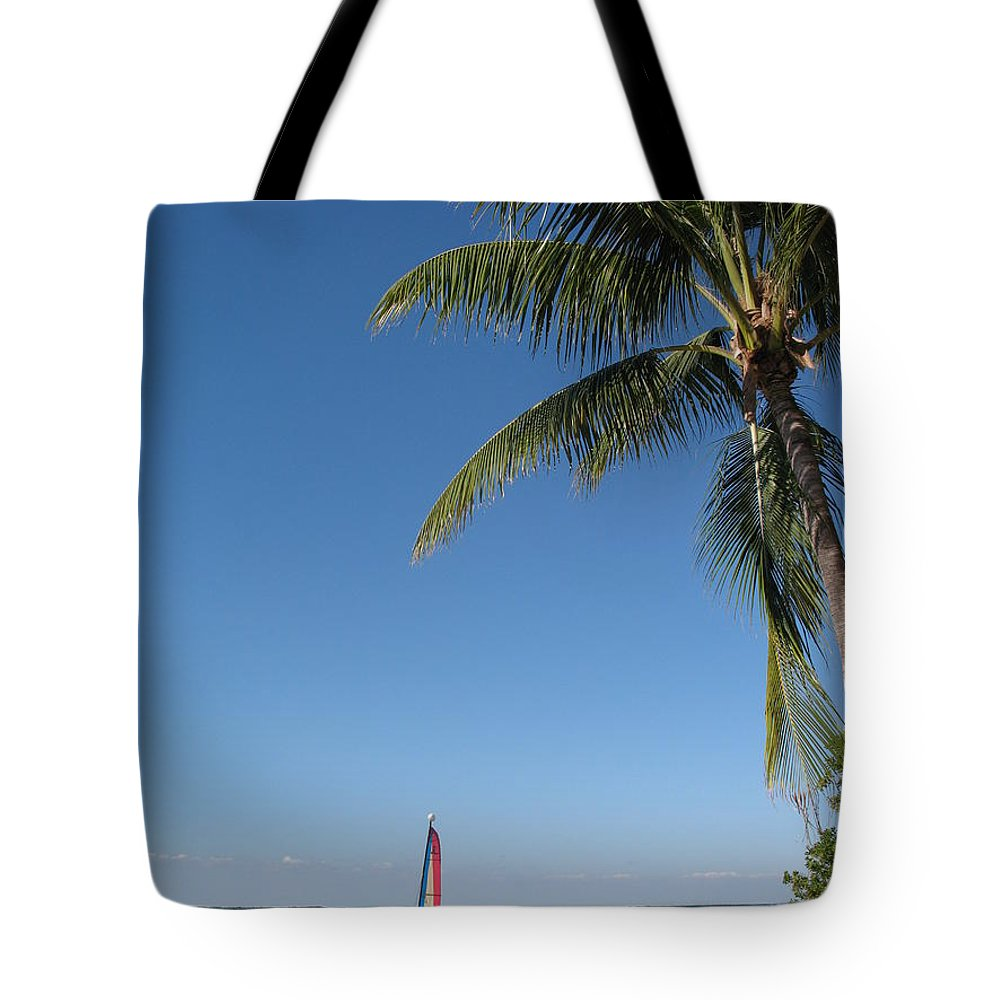 Tropical Feeling Tote Bag featuring the photograph Tropical Feeling by Christiane Schulze Art And Photography