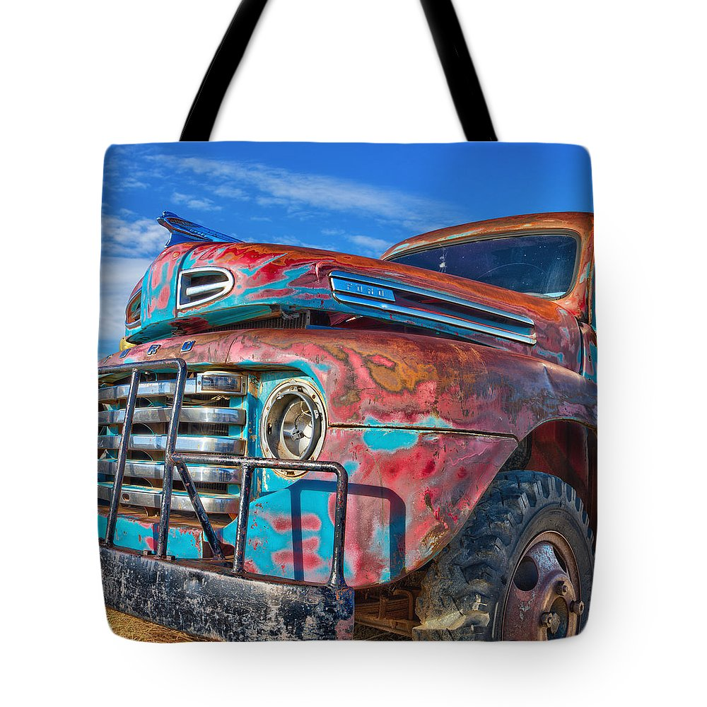 Ford Tote Bag featuring the photograph Heavy Duty by Daniel George
