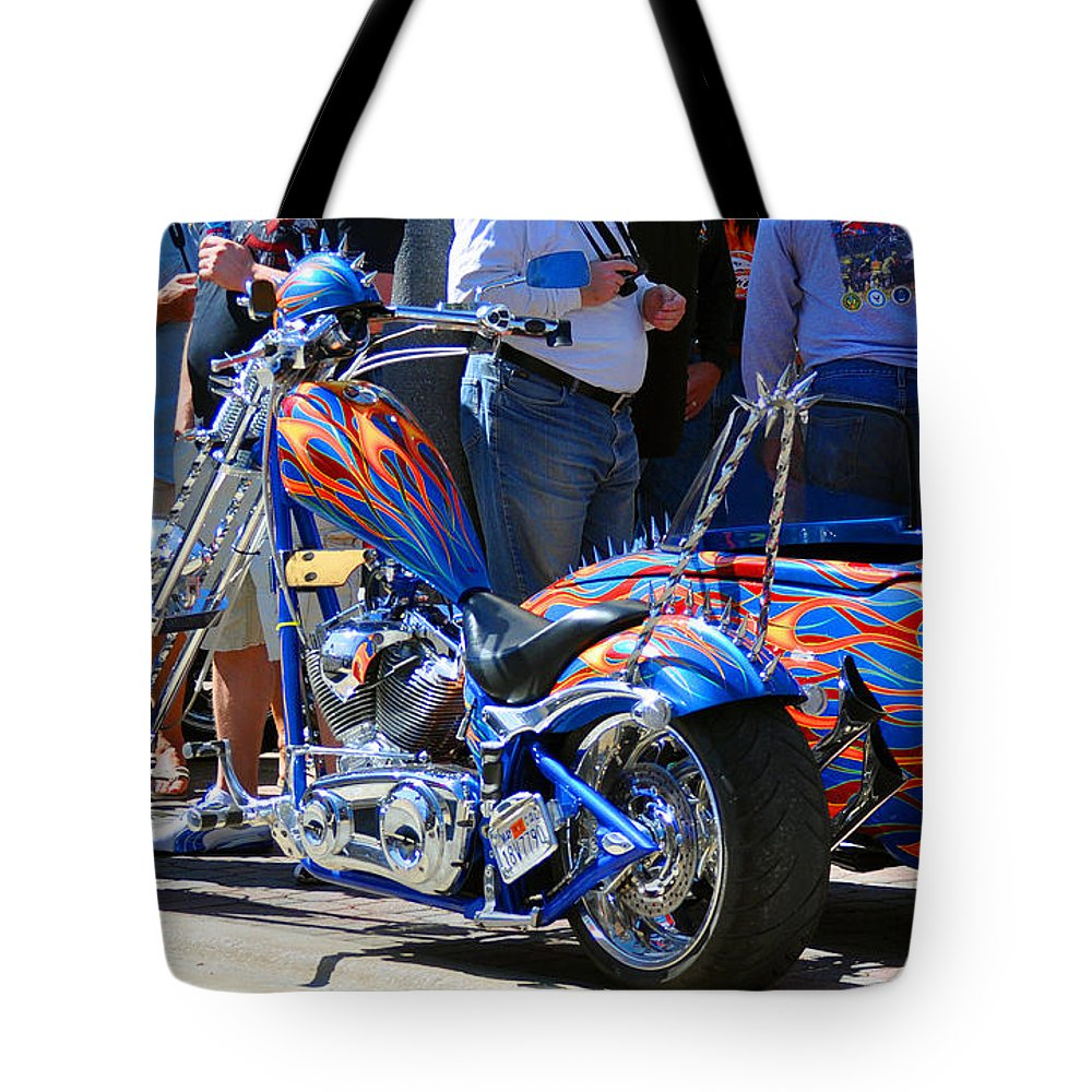 Paint Jobs Tote Bag featuring the photograph True Colors by Davids Digits