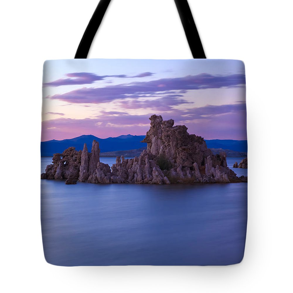 Landscape Tote Bag featuring the photograph Tufa Islands by Jonathan Nguyen