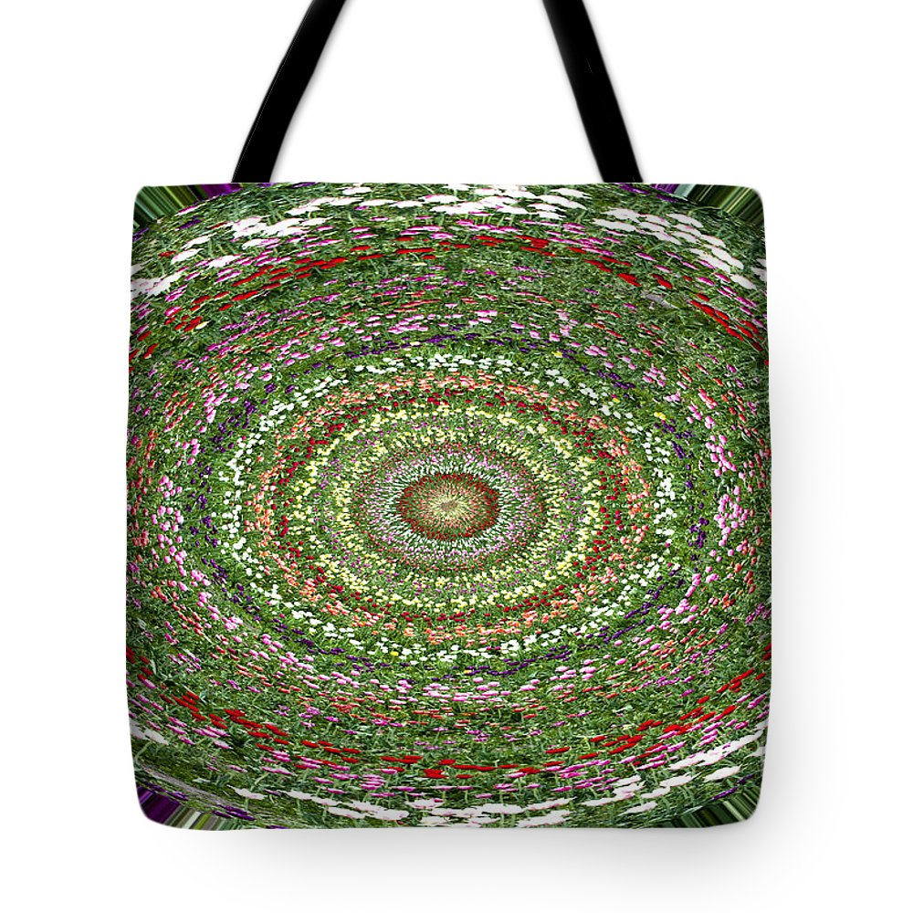 Tulip Tote Bag featuring the photograph Tulip Kaleidoscope by Patty Colabuono