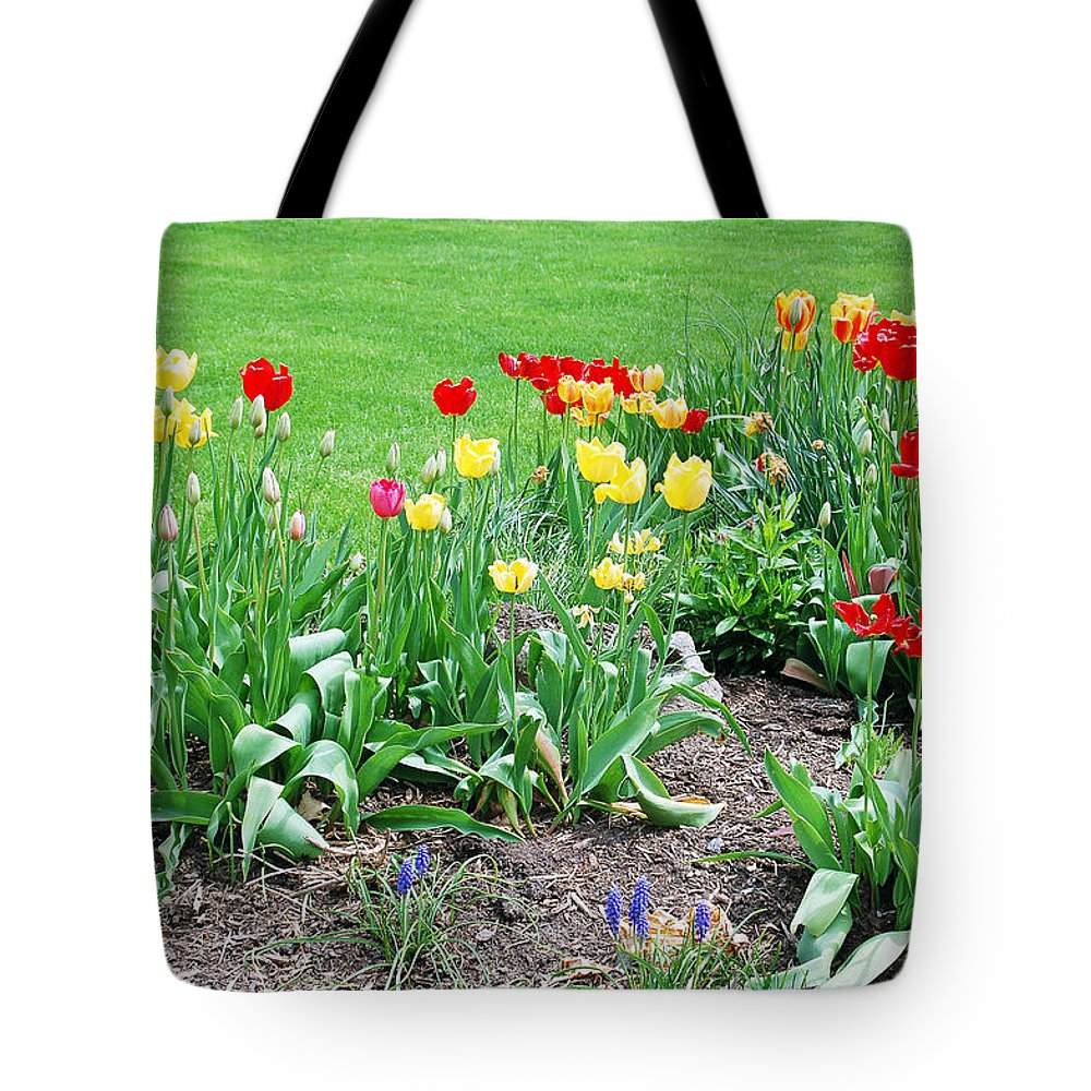 Tulip Tote Bag featuring the photograph Tulips by Aimee L Maher ALM GALLERY