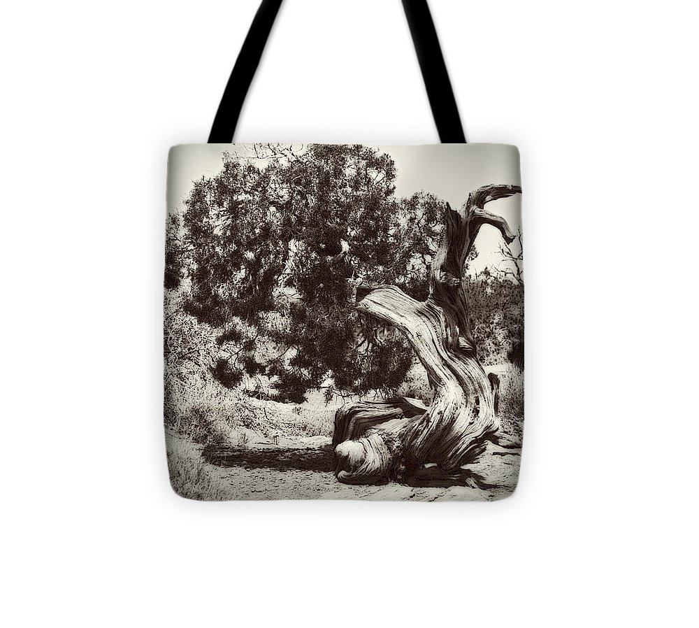 Tumbleweed Tote Bag featuring the photograph Tumbleweed Timber by Jo-Anne Gazo-McKim