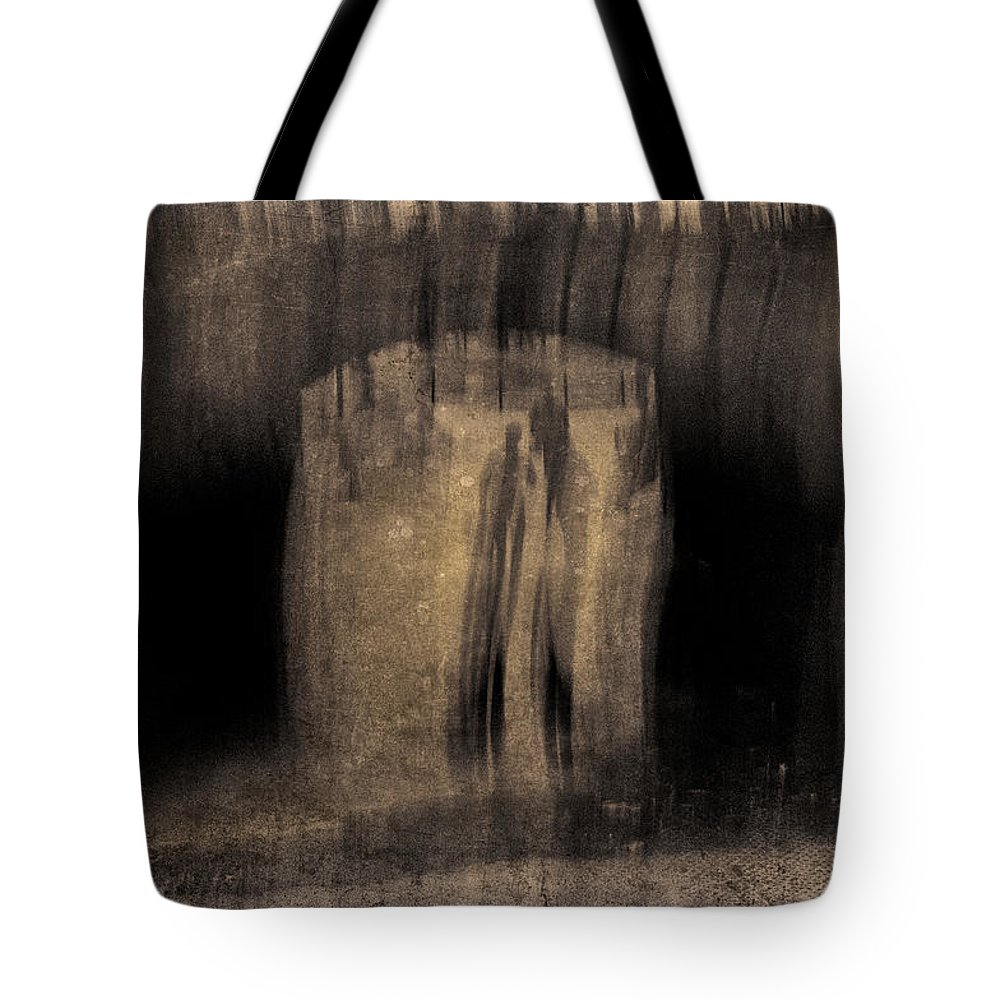 New York Tote Bag featuring the photograph Architects Of Willowdell by Eric Ferrar